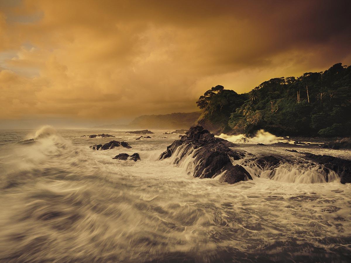 Osa Peninsula - Rising Swell, Costa Rica Carmichael Productions, Inc. Landscape