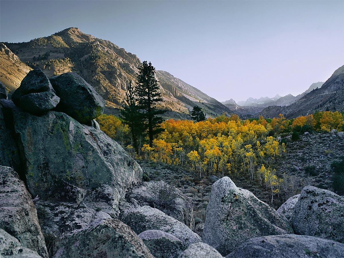 Bishop Creek Fall Carmichael Productions, Inc. Landscape