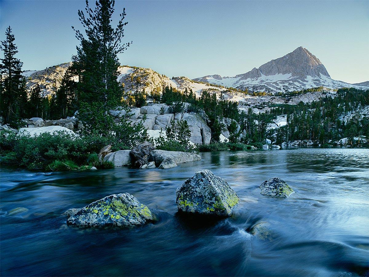 In Honeymoon Lake,Sierra Nevada Carmichael Productions, Inc. Landscape