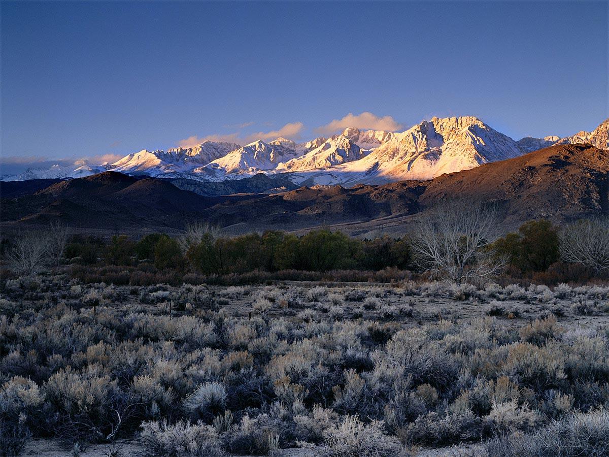 395 to the Sierra Nevada Carmichael Productions, Inc. Landscape