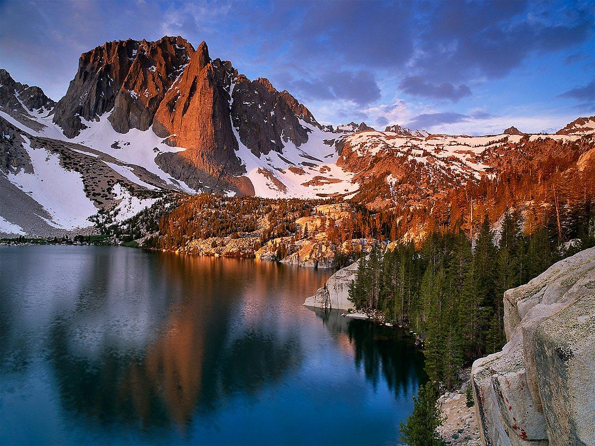 Temple Crag, 2nd Lake, Sierra Nevada Carmichael Productions, Inc. Landscape