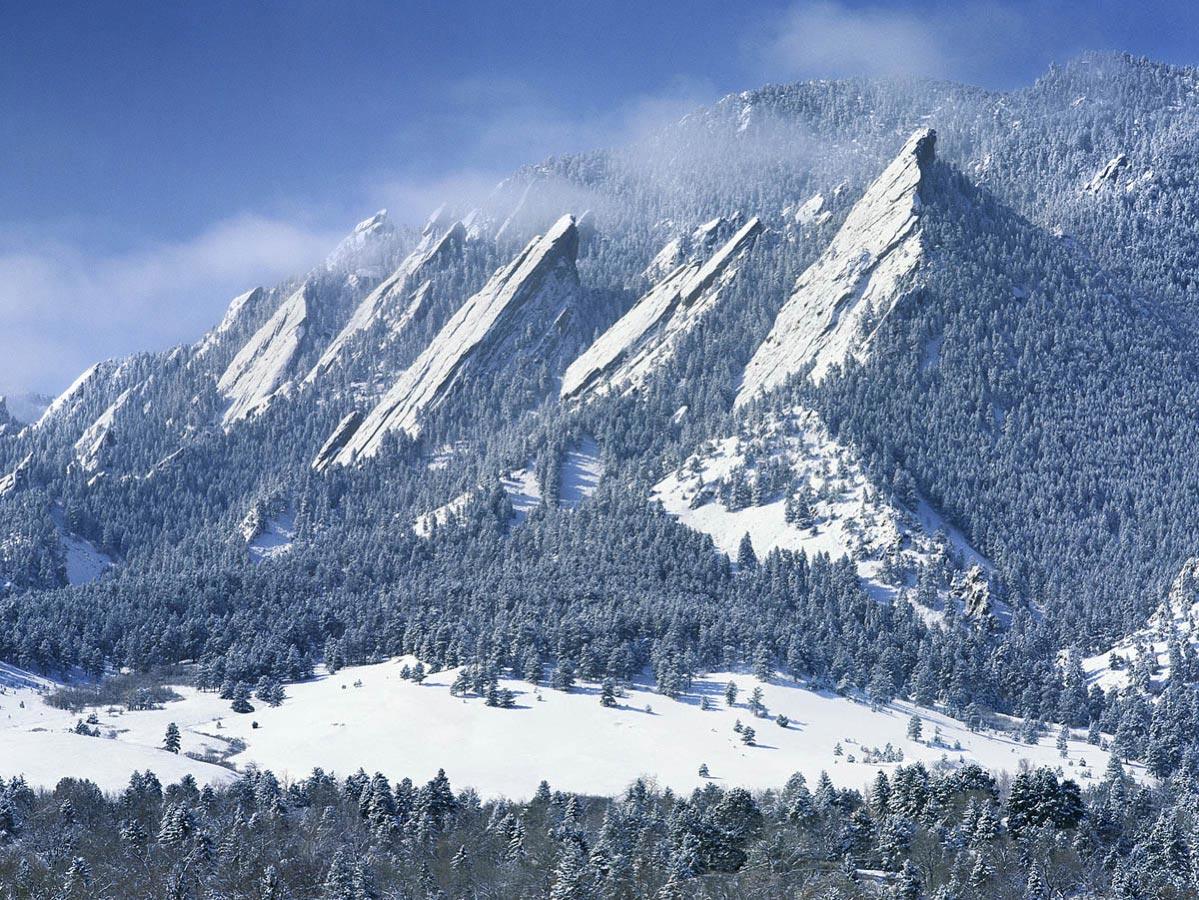 Flatirons in Boulder, CO Carmichael Productions, Inc. Landscape