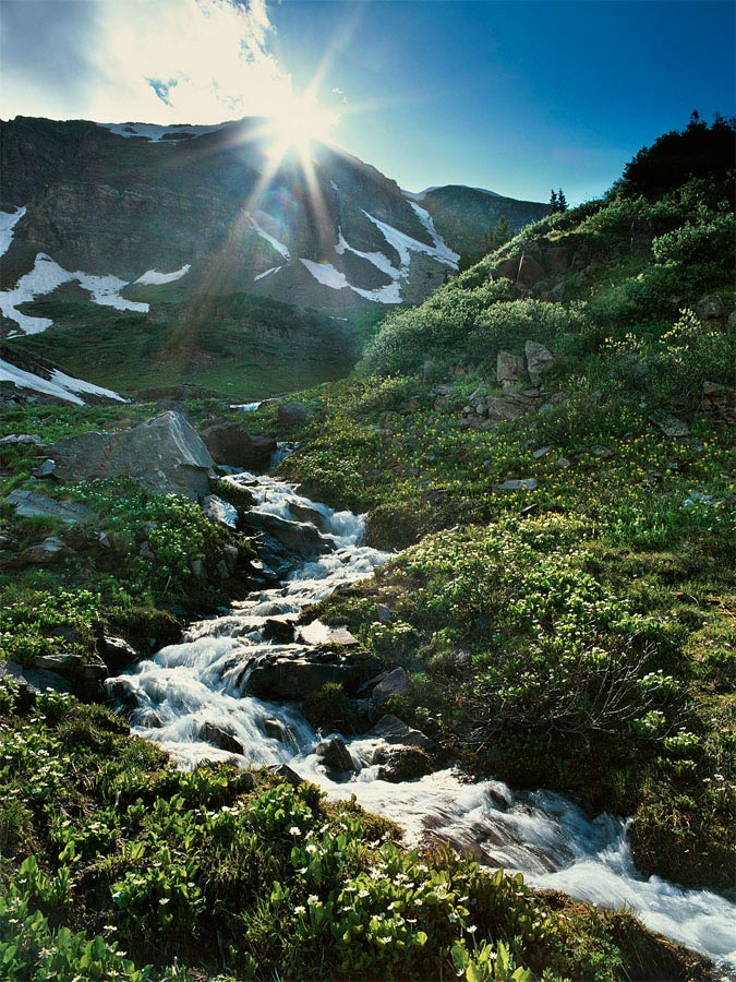 Aspen Run Off Carmichael Productions, Inc. Landscape