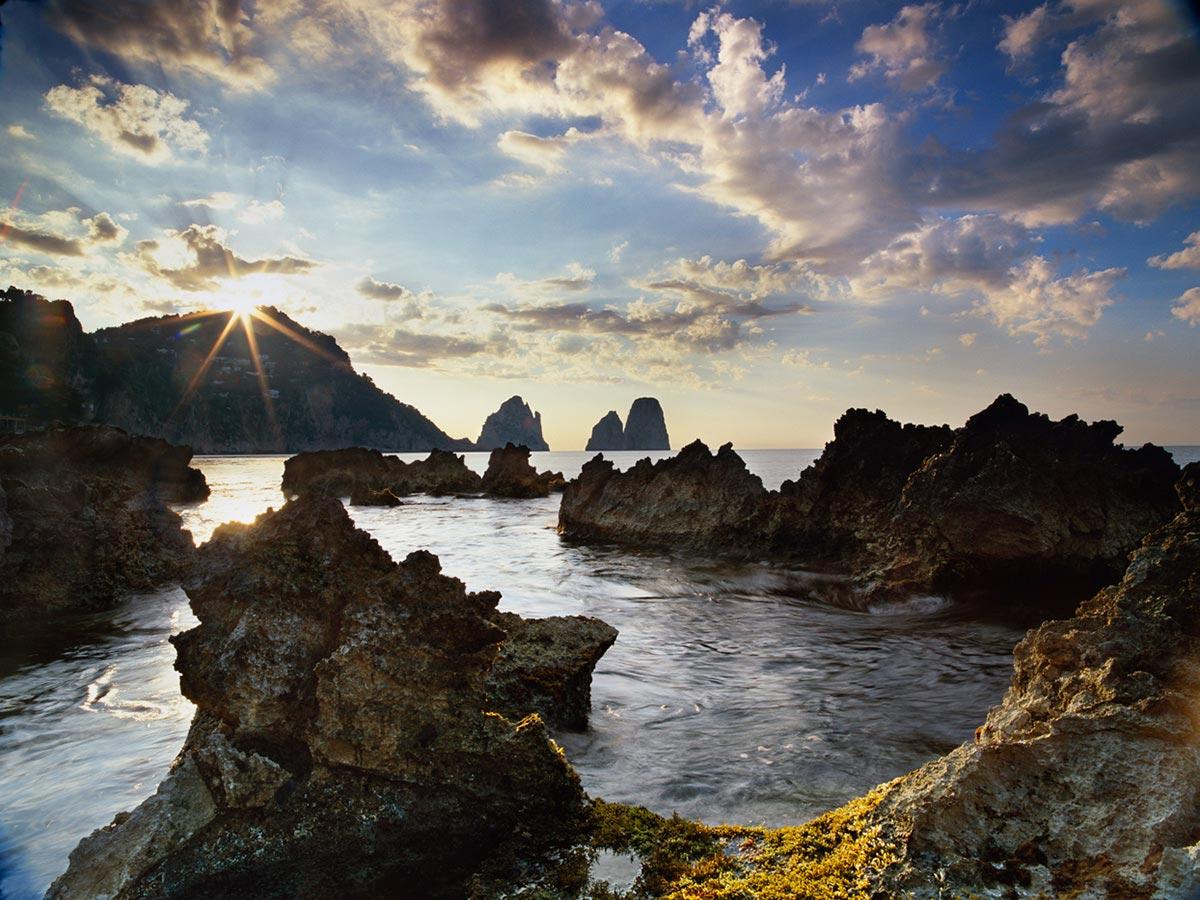 Marina Picola, Capri, Italy Carmichael Productions, Inc. Landscape