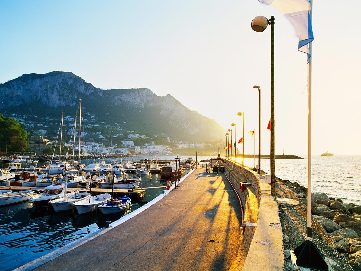 Grand Marina, Capri Carmichael Productions, Inc. Landscape