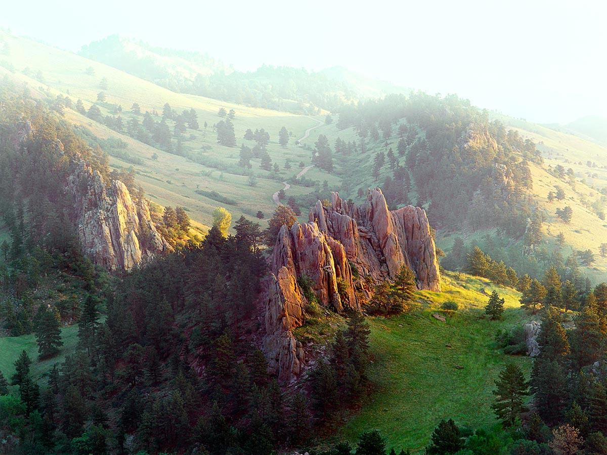 Settlers Park - Red Rocks Carmichael Productions, Inc. Landscape