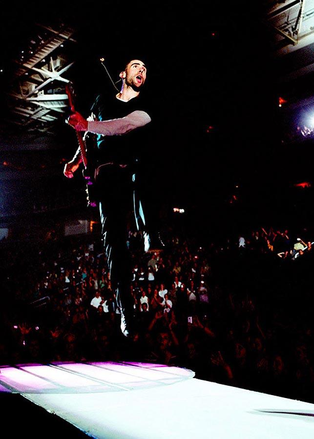 Music Peformance Adam Levine Maroon 5 Carmichael Productions, inc.