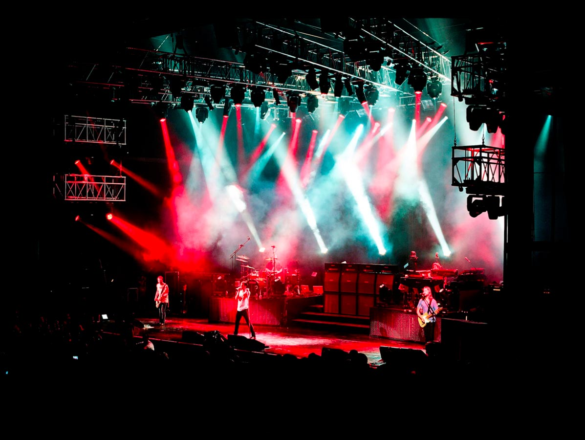 Music Peformance Photography Maroon 5 Carmichael Productions, inc.