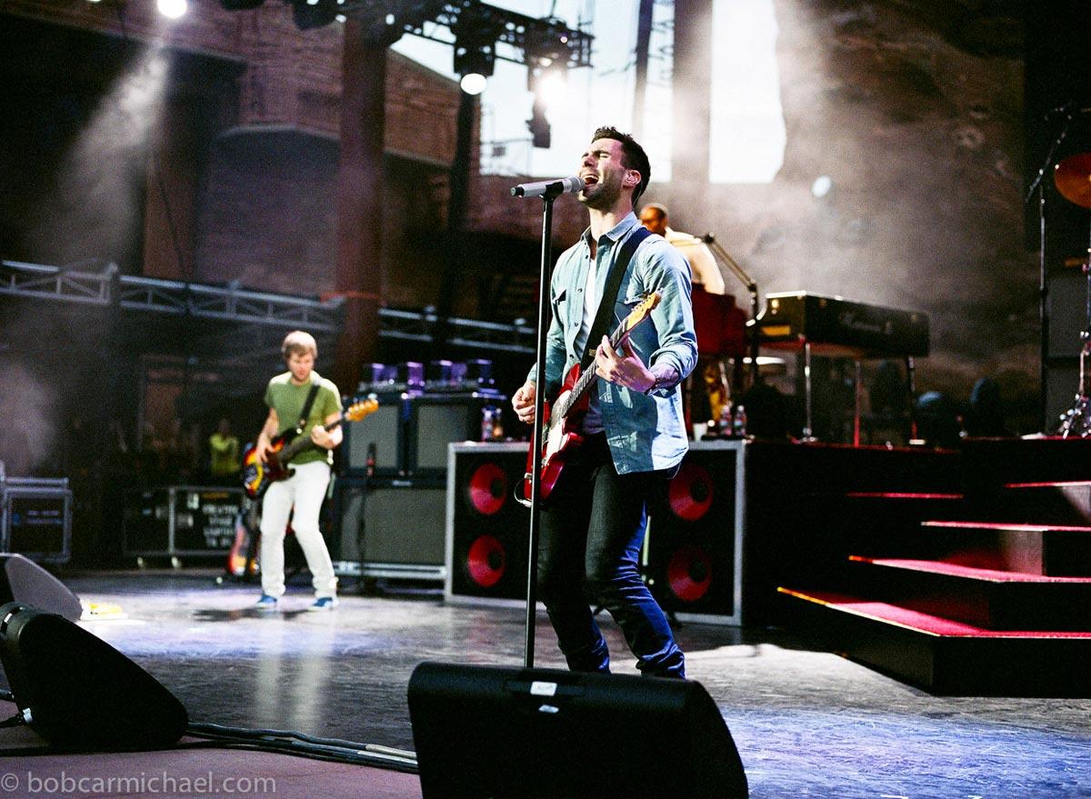 Music Peformance Maroon 5 Carmichael Productions, inc.