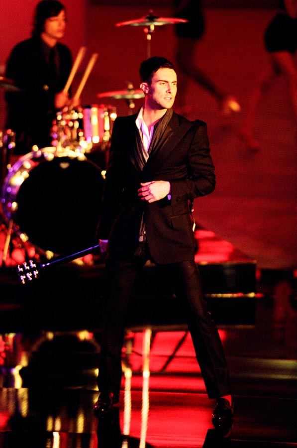 Carmichael Productions, Inc Adam Levine Behind the Scenes Photography Maroon 5