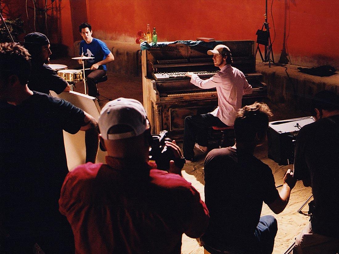 Carmichael Productions, Inc Film Crew Jesse Carmichael Piano Behind the Scenes Photography Maroon 5