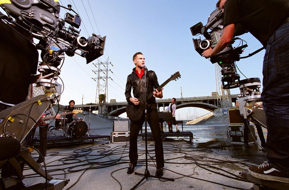 Carmichael Productions, Inc Documentary Behind the Scenes Photography Maroon 5