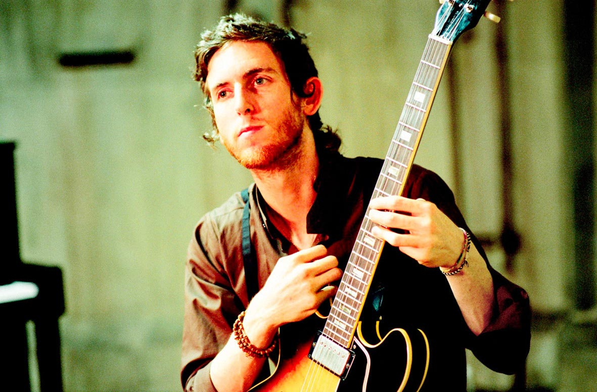Carmichael Productions, Inc Jesse with Guitar Behind the Scenes Photography Maroon 5