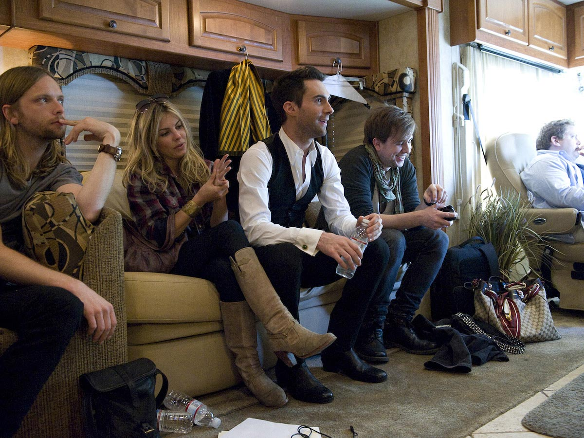 Carmichael Productions, Inc Documentary Behind the Scenes Photography Coach Maroon 5