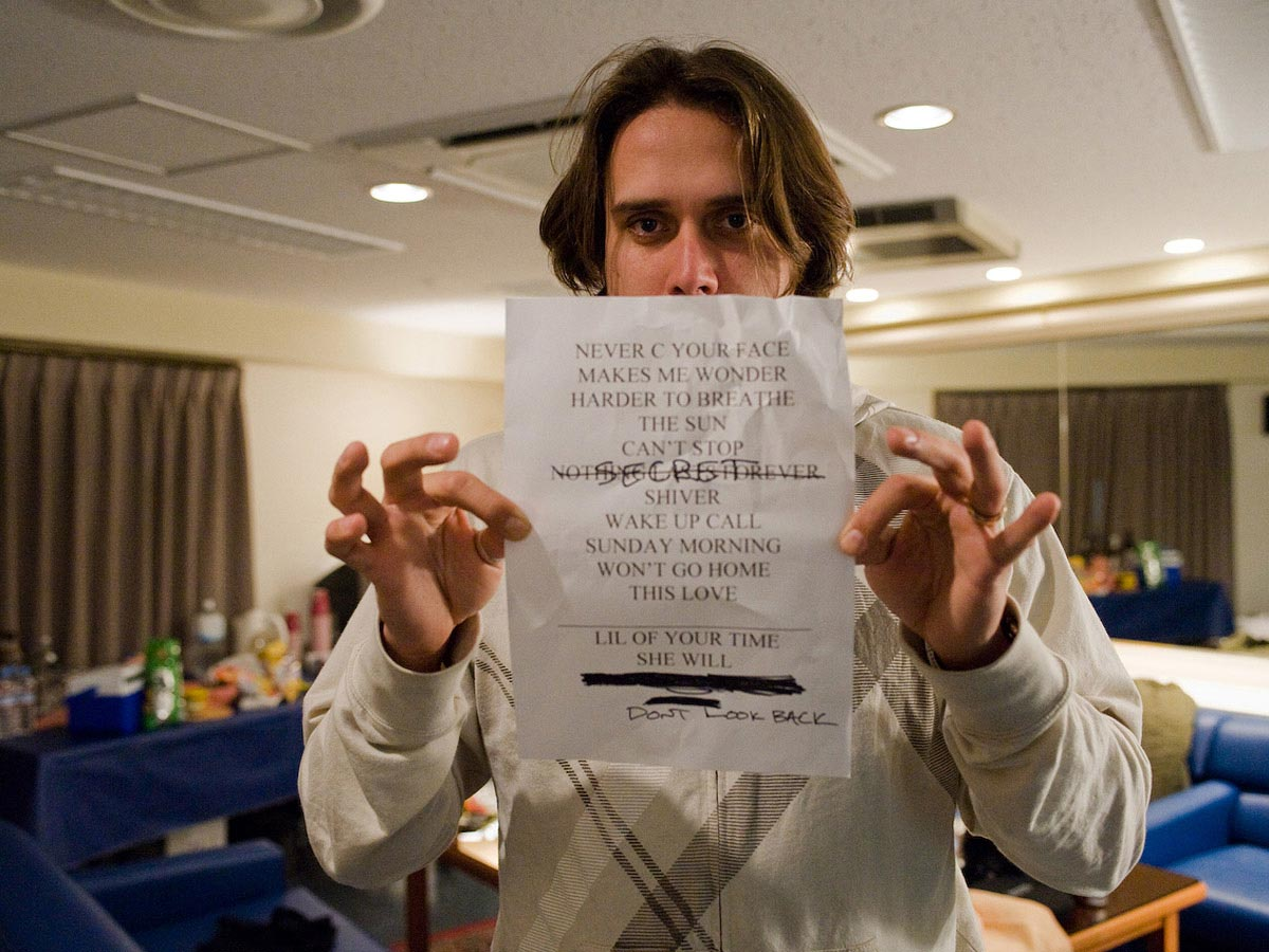 Carmichael Productions, Inc Documentary set list Behind the Scenes Photography Maroon 5