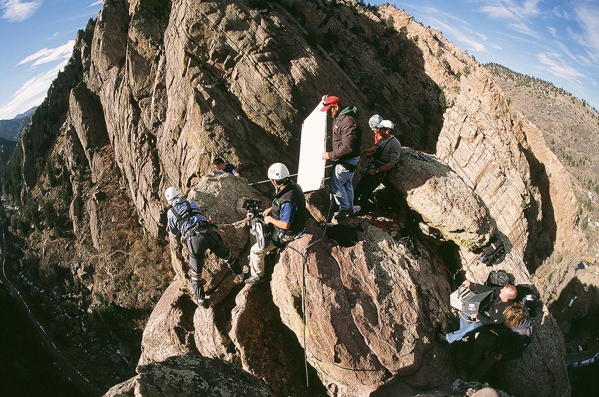 Colorado Production Service Company: Carmichael Productions, Inc. Climbing shoot
